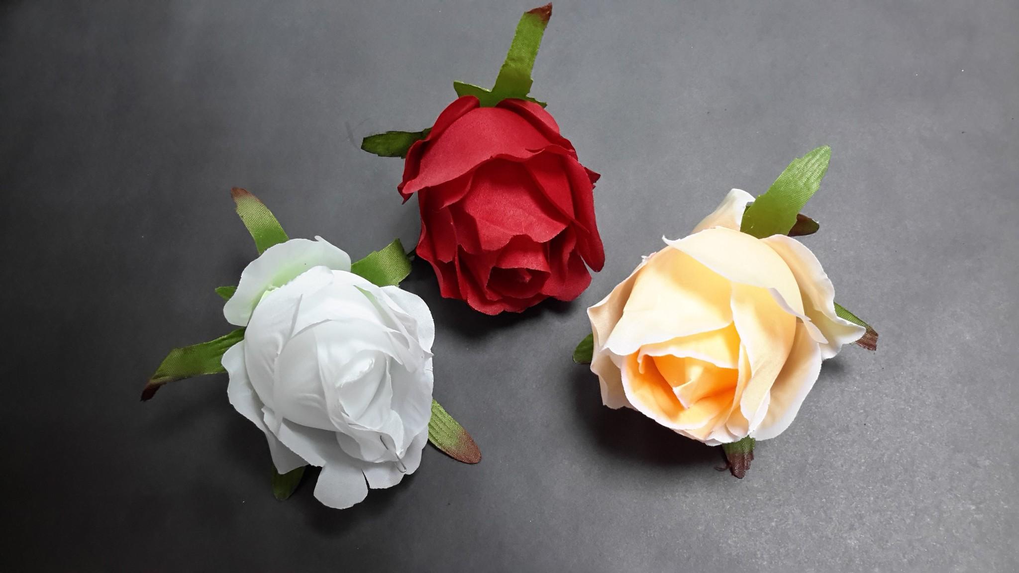 Бутон розы 9 см.