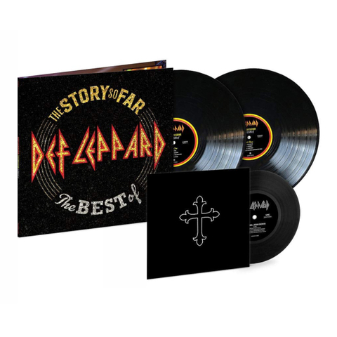 Def Leppard / The Story So Far - The Best Of Def Leppard (2LP+7