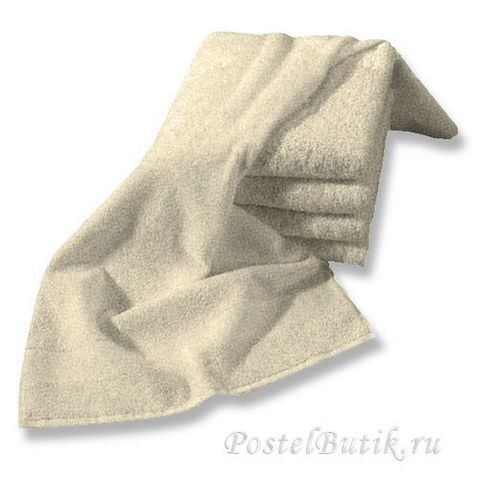 Полотенце 40x60 Mirabello Microcotton песочное