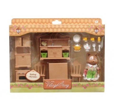 Игрушечная мебель для кухни Village Story VS_201