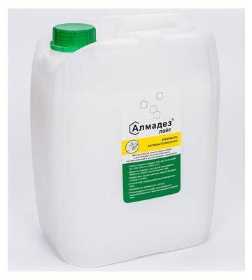 Антибактериальное крем-мыло Алмадез-лайт, 5 л., канистра Алмадез-лайт_5л.jpg