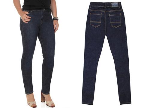 L5087 джинсы женские, синие