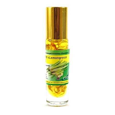 Жидкий тайский бальзам-ингалятор с лемонграссом.