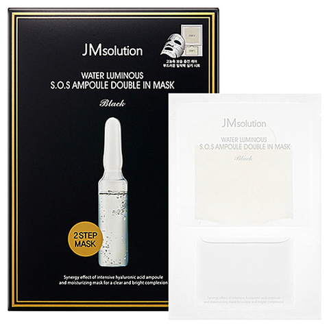 JMsolution Маска двухфазная с гиалуроновой кислотой - S.O.S ampoule double in mask, 30мл