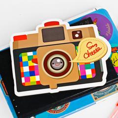 Блокнот-фотоаппарат (разноцветный)