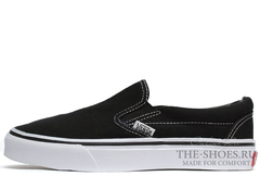Кеды Vans Classic Slip-on Black White