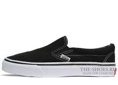 Кеды Vans Classic Slip-on Black White