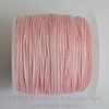 Нейлоновый шнур 1 мм (цвет - розовый) 35 м