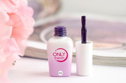 Гель-лак Only French, Violet Touch №098, 7ml