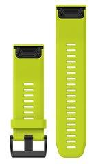 Ремешок силиконовый QuickFit 26 для Garmin Fenix 5X (салатовый) 010-12517-01