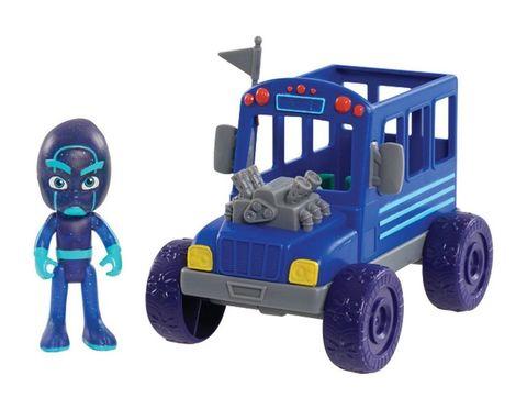 Игровой набор Ниндзялино (Night Ninja) на автобусе - Герои в Масках,  PJ Masks