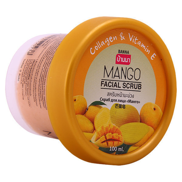 Banna Скраб для лица с Манго Mango Facial Scrub, 100 мл