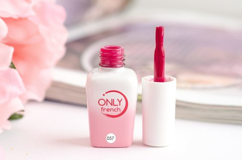 Гель-лак Only French, Red Touch №057, 7ml