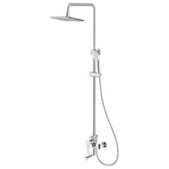 Смеситель для ванны Rossinka W35-46 с верхним душем