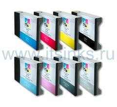 Комплект из 8 картриджей для Epson 7800/9800 8x220 мл