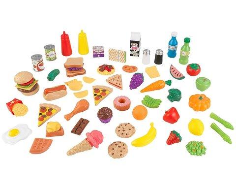 KidKraft Вкусное удовольствие - 65 элементов - набор еды 63510_KE