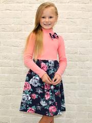 382ФД-1 платье детское, розовое