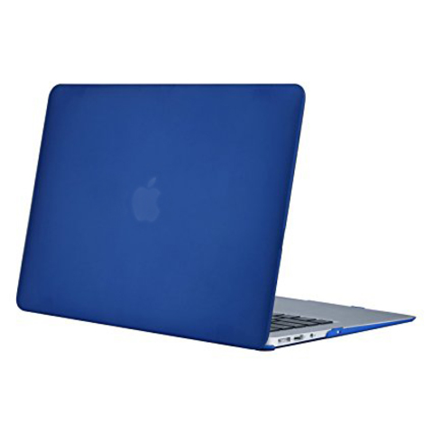 Накладка пластик MacBook Pro 15 Retina New /matte blue/ DDC
