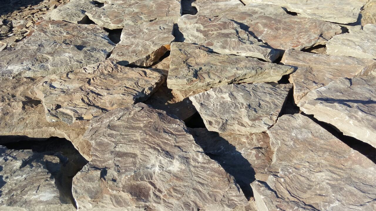 Песчаник плитняк Дракон камень фактурный