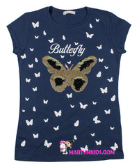 544 майка бабочки