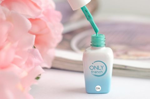 Гель-лак Only French, LightBlue Touch №036, 7ml