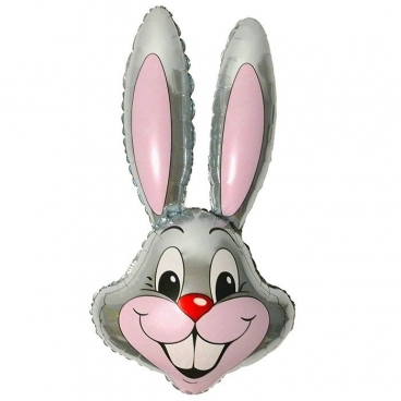 Голова Кролика серая