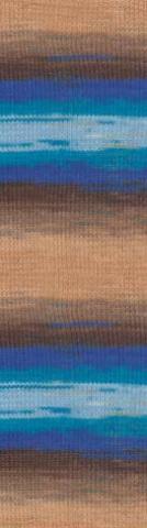 Alize Diva batik цвет 3243, фото, пряжа
