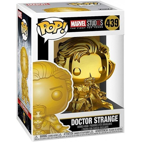 Фигурка Funko POP! Bobble: Marvel: MS 10: Doctor Strange (Chrome)