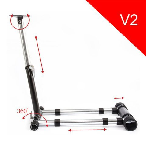 Стойка для игрового руля Wheel Stand Pro V2 Deluxe для Thrustmaster T80/T100/F458/F430/RGT