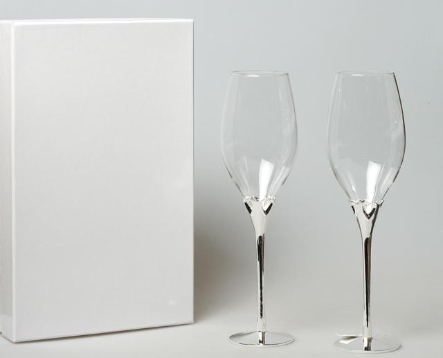 Набор бокалов свадебный 163015