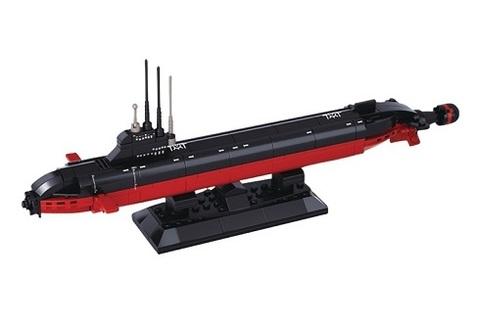 Конструктор серия Армия Атомная подводная лодка
