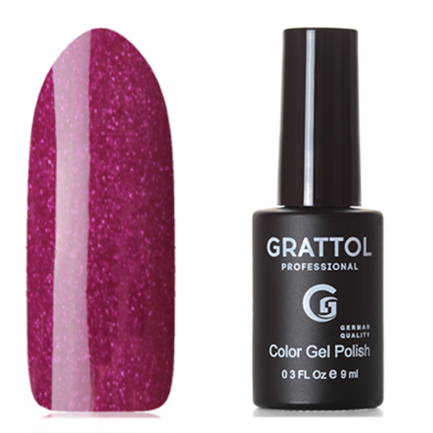 Grattol, Гель-лак Classic Collection №080, Shining Ruby 53451