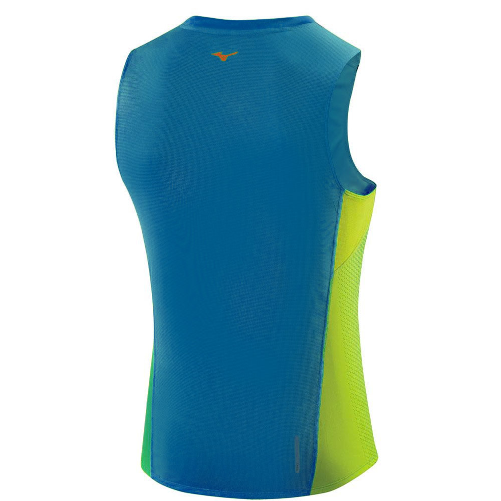 Мужская беговая футболка Mizuno Drylite Premium Tee (J2GA5003 22) фото