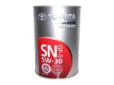 Toyota motor oil 5W-30 SN/GF-5 - Синтетическое моторное масло
