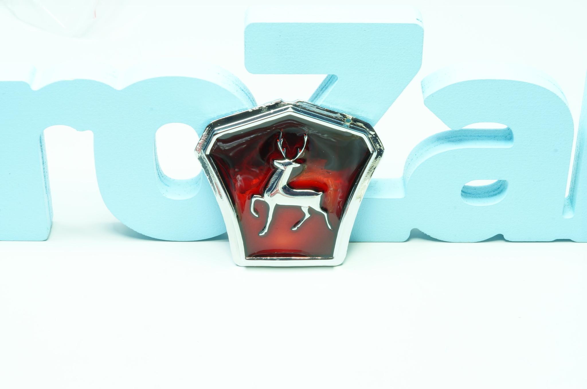 Эмблема капота Газ 21 1-2 серии