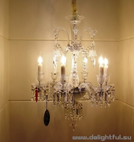 replica BACCARAT ZÉNITH CHANDELIER ( 6 lights + clear )