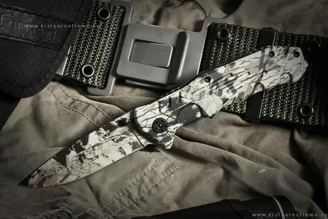 Складной нож Camo (сталь 5Cr15mov ~ z50)