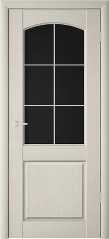 Дверь Фрегат ALBERO Верона Классик2, триплекс, цвет беленый дуб, остекленная