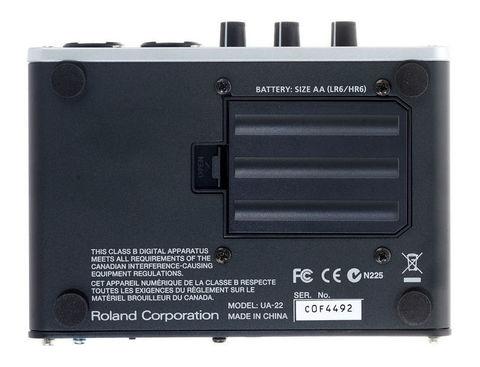 Roland UA-22 Duo Capture-Ex — USB-аудио интерфейс
