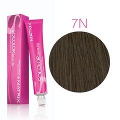Matrix Socolor Beauty 7N блондин, стойкая крем-краска для волос 90 мл