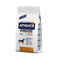 Корм для собак малых пород, Advance Weight balance mini, при ожирении