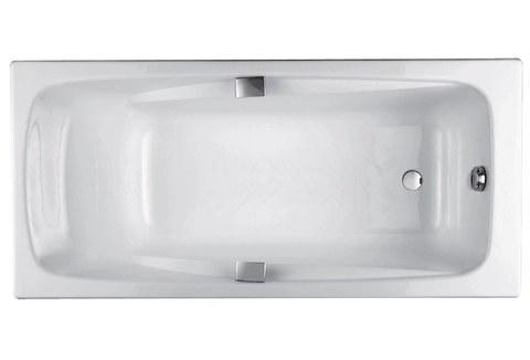Чугунная ванна Jacob Delafon REPOS 170x80 с ручками