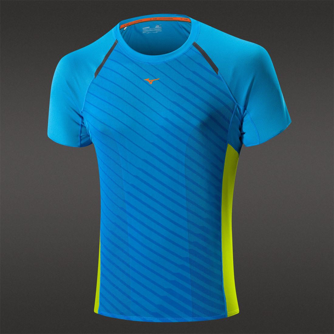 Мужская беговая футболка Mizuno Drylite Premium Tee (J2GA5003 22)