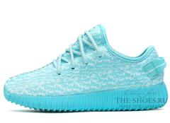 Кроссовки Женские Adidas Originals Yeezy 350 Sky Blue