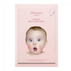 JMsolution Mama Pureness Mela Clear Mask - Тканевая маска, выравнивающая тон кожи