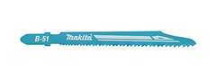 Пилка по металлу для лобзика Makita B-51