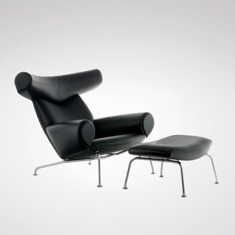 replica  ox armchair ( leather)