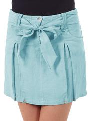 6227-2 юбка бирюза