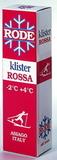 Лыжный клистер Rode K40 красный (-2/+4) 60гр