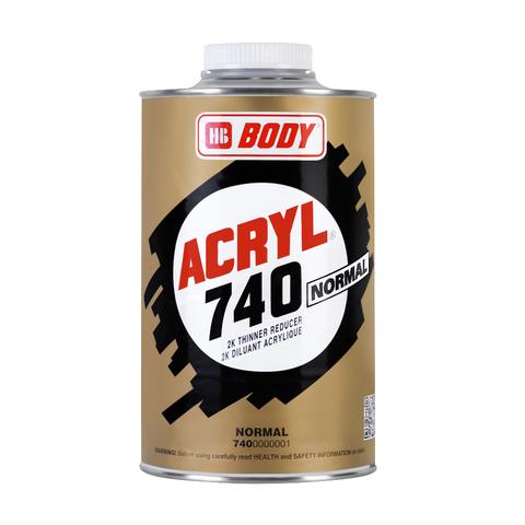 Растворитель Body 740 ACRYL (норм) 1,0л